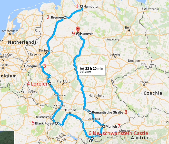 Road Trip Germany